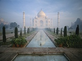 Taj Mahal and Reflecting Pools