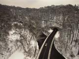 Highway Crossing a Creek