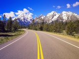 Road Winding to Grand Teton