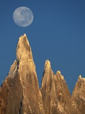 Moon Over Mount Torre