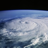 Hurricane Elena from Space Shuttle Discovery