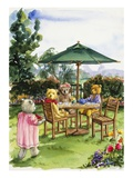 Teddy Bears at a Backyard Tea from Teddy Bears' Picnic Cookbook