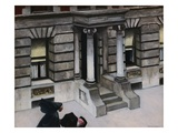 New York Pavements Giclée par Edward Hopper