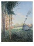 Country Landscape by Julian Alden Weir