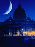 St Peter&#39;s Basilica at Night