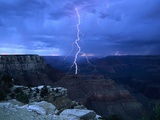 Lightning Above Grand Canyon
