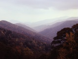 Smoky Mountains in the Mist
