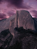 Purple Sky over Half Dome