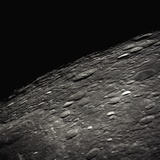 Craters on the Limb of the Moon