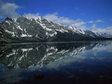 Mountain Reflection at Jenny Lake