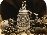 Albumen Print Still Life with Fruit by Roger Fenton