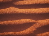 Groove Patterns in Brown Sand