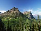 Glaciated Mountain Peaks