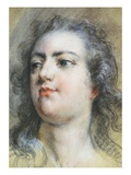 The Head of King Louis XV; A Study for Allegorical Full-Length Portrait of 1729