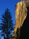 Sunlight Shining on El Capitan