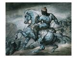 Scene from the Colonial War: Negro on Horseback