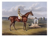 Aquatint by Thomas Sutherland After Barefoot  Winner 1823