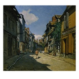 Rue de la Bavolle  Honfleur