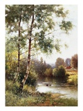 Landscape near Sonning on Thames  England