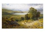 Llandudno Junction, North Wales Giclée par Samuel Henry Baker