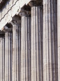 Fluted Marble Columns of the Parthenon