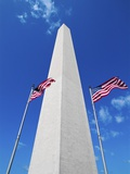 Washington Monument Against the Blue Sky