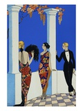 The Taste of Chales Giclée par Georges Barbier