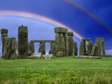 Double Rainbow over Stonehenge