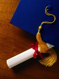 Diploma and Cap