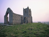 St Michael's Church Ruins on Burrow Mump