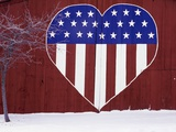 Heart-Shaped Stars and Stripes