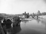 Tiber River in Rome