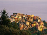 Village of Corniglia on the Italian Riviera