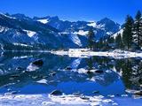 Winter Lodge in Sierra Nevada