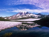 Mount Rainier Reflected in Pond