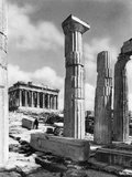 View Of Propylaes And Parthenon