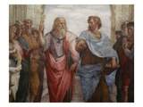 Detail of Plato and Aristotle from The School of Athens