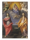 Madonna of the Snow with Saints Lucy and Mary Magdalen