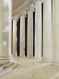 Columns Inside the Jefferson Memorial