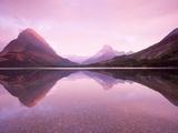 Serene lake in Montana