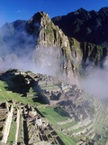 Misty View of Machu Picchu
