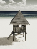 Lifeguard Station on Beach