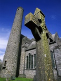 Celtic Cross Outside St Canice's Cathedral