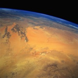 Low-Earth-Orbit View of Grand Erg Occidentale