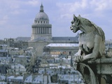 Gargoyle Looking Toward the Pantheon
