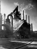 Blast Furnance at the Bethlehem Steel Works in Pennsylvania