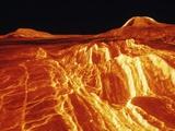 Gula Mons on Venus