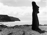 Moai by the Seashore