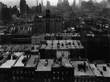 Rooftops  Manhattan  1944