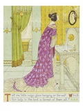 Book Illustration Depicting the Evil Queen by WC Drupsteen